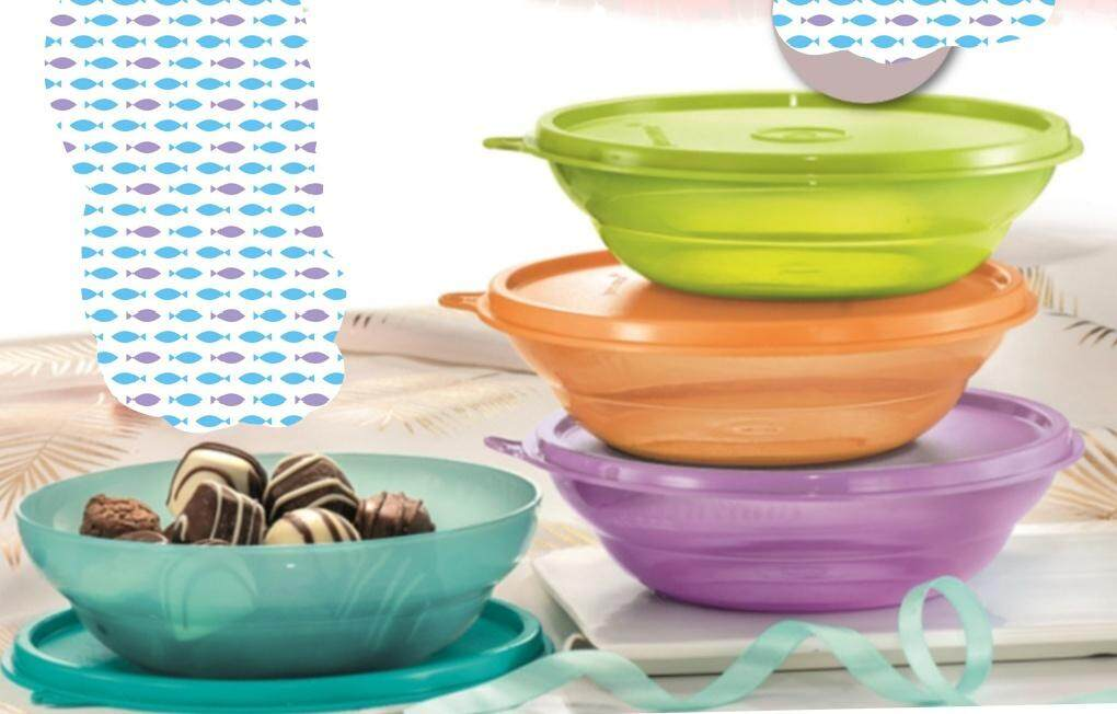 Tupperware Fun Bowls 450ml(4 Pcs)