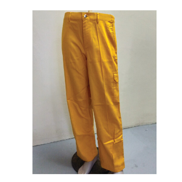 Cotton Pant Yellow