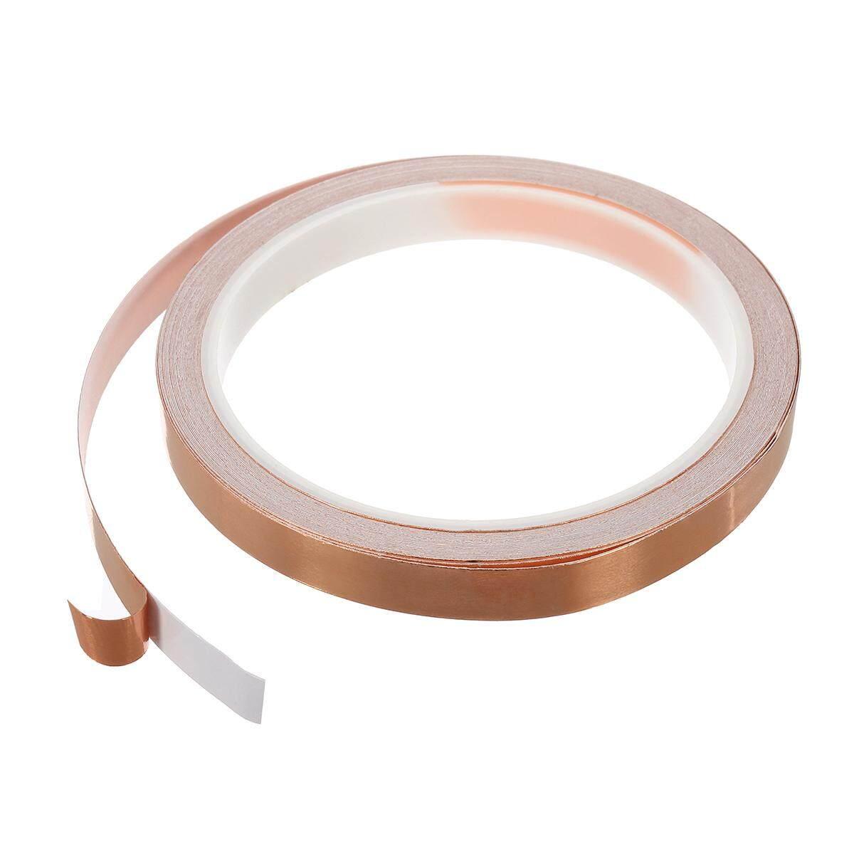 10m 10mm Single-sided Adhesive Conductive Copper Foil Tape Guitar Pickup EMI Shield
