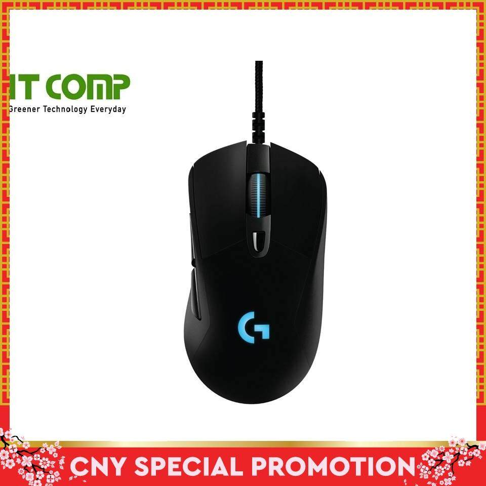 [Free Shipping] Logitech G403 Prodigy Wired Programmable Gaming Mouse Malaysia