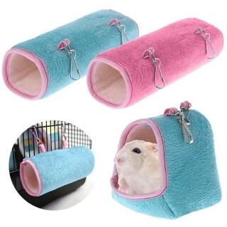 Dễ Thương Mùa Đông Ấm Áp Chim Võng Đồ Chơi Cho Chuột Hamster Lồng Nhà Giường Hamster Treo Nhà Ổ Ngủ Giường Thú Cưng Lồng Võng thumbnail