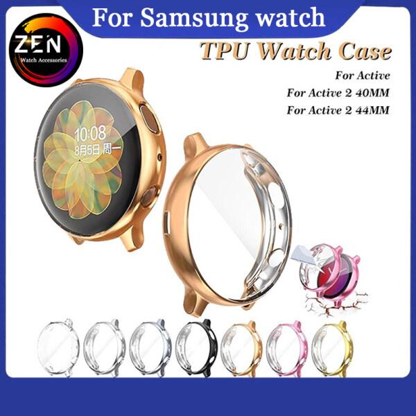 Ốp Bảo Vệ Màn Hình TPU Cho Samsung Watch Active/Active 2 40Mm 44Mm, Ốp Bảo Vệ Toàn Bộ Bằng Silicon Mềm Siêu Mỏng Cho Samsung Galaxy Active 40/44Mm