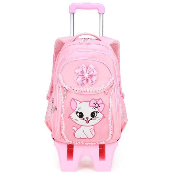 Trolley School Bags Backpack Rolling Backpack Kids Wheeled Backpack School Backpack with Wheels