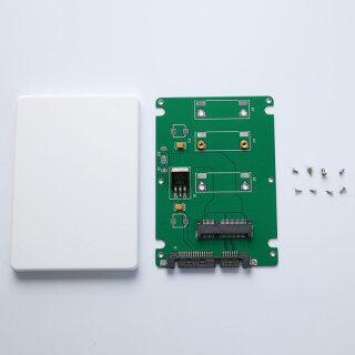 Rilakku SSD MSATA Sang 2.5 Inch SATA 3 Bộ Chuyển Đổi Đầu Nối Thẻ Chuyển Đổi Với Vỏ 2.5 Inch thumbnail