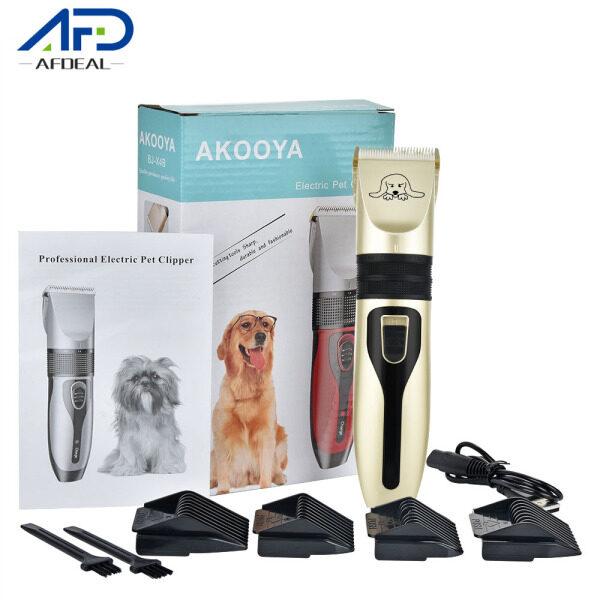 Afdeal Bộ dụng cụ cắt tỉa lông cho chó điện có thể sạc lại Máy cắt tóc cho thú cưng Máy cắt lông chó
