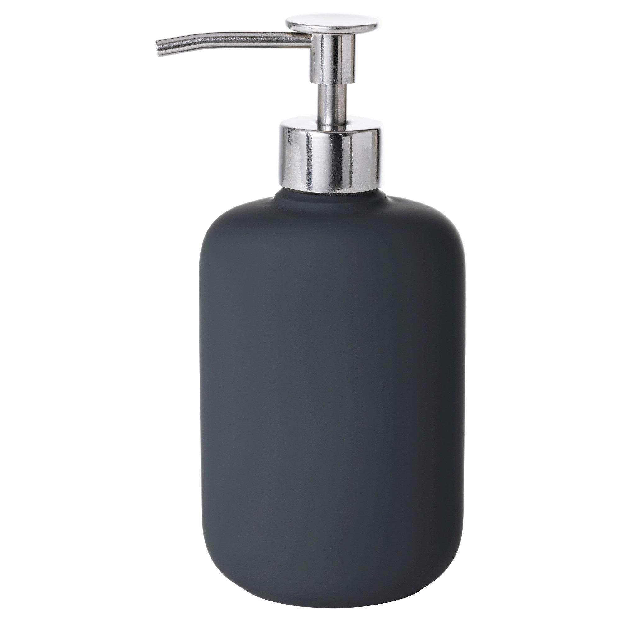 Ikea Ekoln Soap Dispenser, Dark Grey By Mujiten.