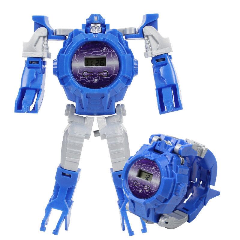 Nơi bán Điện Tử Biến Dạng Đồng Hồ Sáng Tạo Cho Trẻ Em Của Nhãn Hiệu Robot Biến Hình Đồ Chơi RTSB