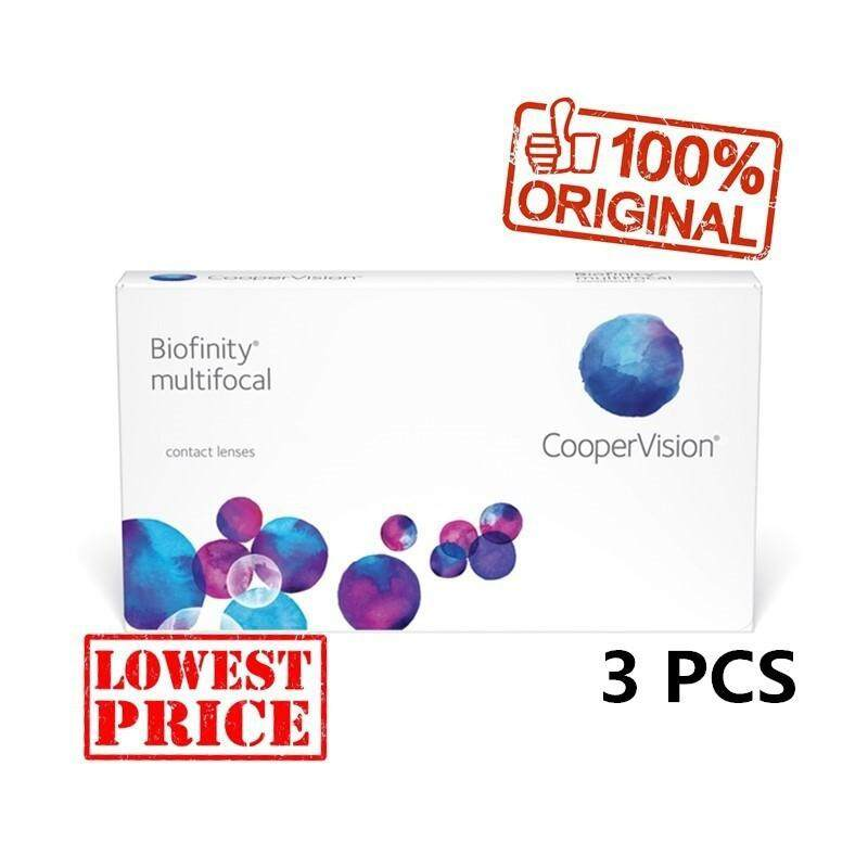 Biofinity Multifocal Monthly Contact Lens 3pcs per box + free 1pc