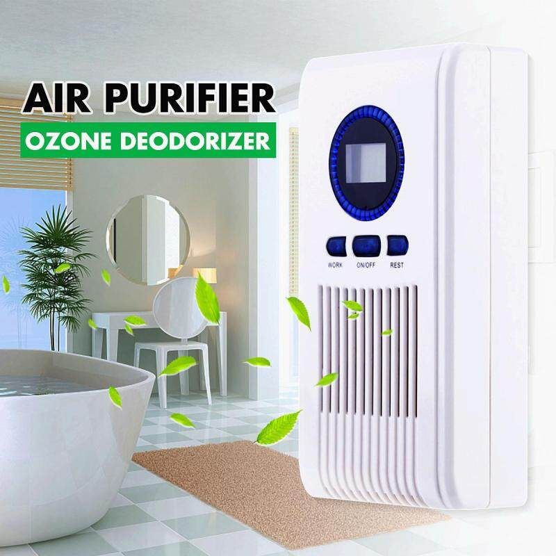 5W Smart Air Purifier Ozone Cleaner LED Display Bathroom Timing Deodorizer Home Singapore