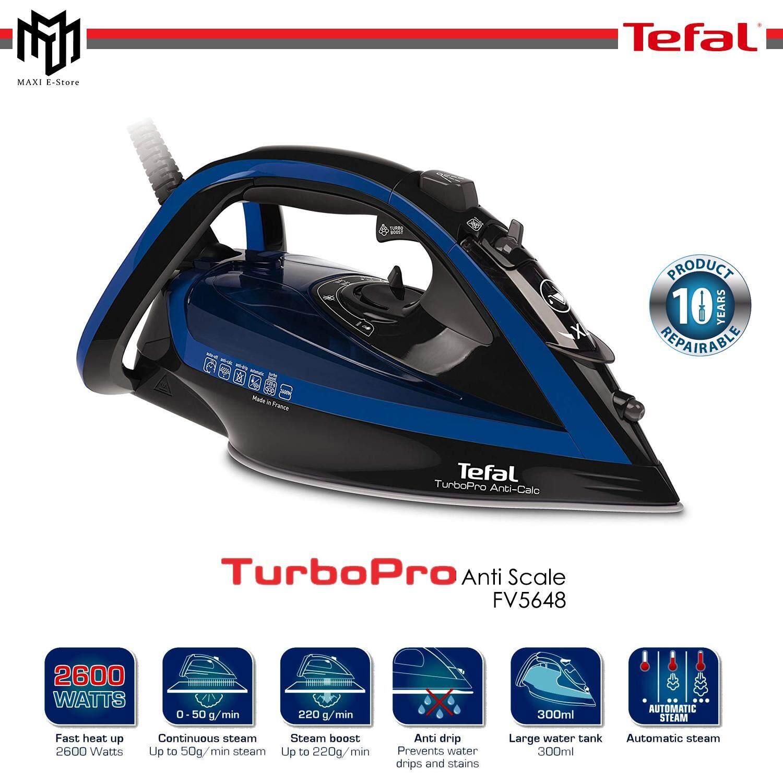 TEFAL Turbo Pro Anti Scale FV5648 Steam Iron