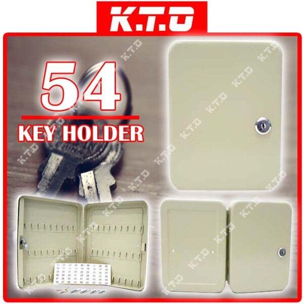 54 KEYS HOLDER LOCKABLE SECURITY METAL KEY BOX STORAGE WALL MOUNTED