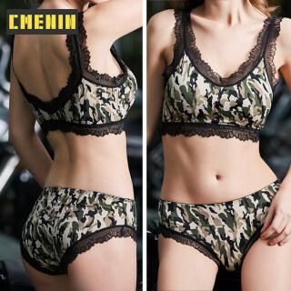 [Đã có hàng] Thời trang nữ Cotton Leopard Cổ điển Bộ áo ngực sexy Bộ đồ lót Push Up Bộ đồ lót ren Brassiere cho bộ đồ ngủ tình dục B0179 thumbnail