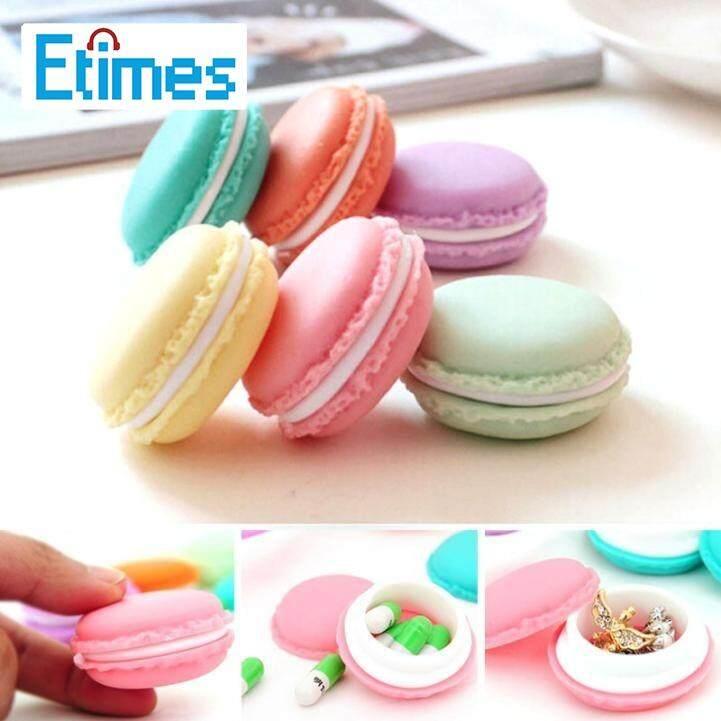 Etimes Mini 6 Pcs Indah Kartu Sd Macarons Mini Tas Earphone Tas Jinjing Tempat Penyimpanan By Etimes.