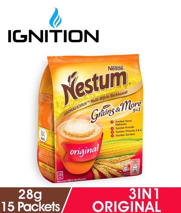 Nestlé Nestum Grains & More Original 3 en 1 (28g X 15s) de Ignition E Enterprise.