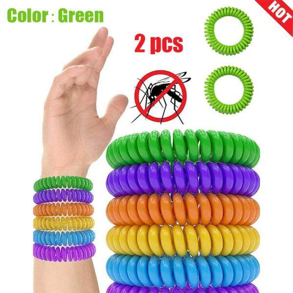 [Buy 1 Get 1 Free] Dengue fever plastic spring insect repellent ring mosquito repellent bracelet