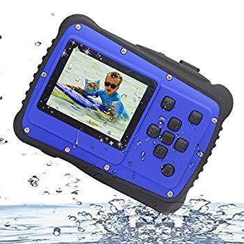 Kids Digital Camera, Vmotal Waterproof Camera for Kids with 2.0 inch TFT Display, 8X Digital Zoom 8MP Waterproof Digital Camera for Children Boys Girls Gift Toys (Blue)