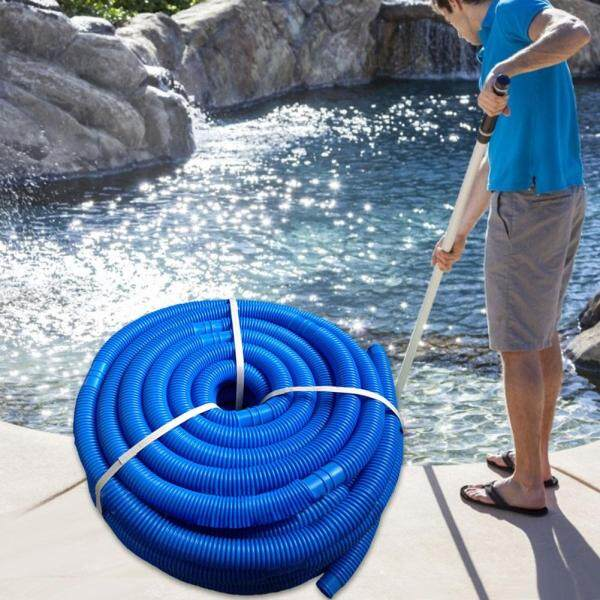 [Ready Stock] 5 m long Swimming Pool Vacuum Hose Swimming Pool Double Layer Suction Pipe Cleaning Accessories