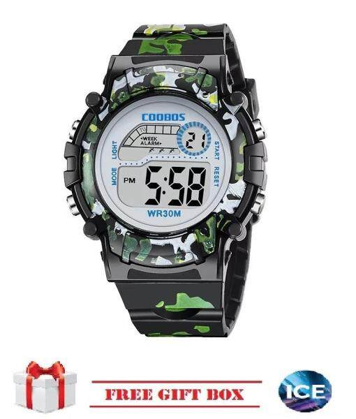 ICE Children Watches LED Digital Multi-functional Waterproof Outdoor Sports Watch FREE GIFT Box For Kids Malaysia