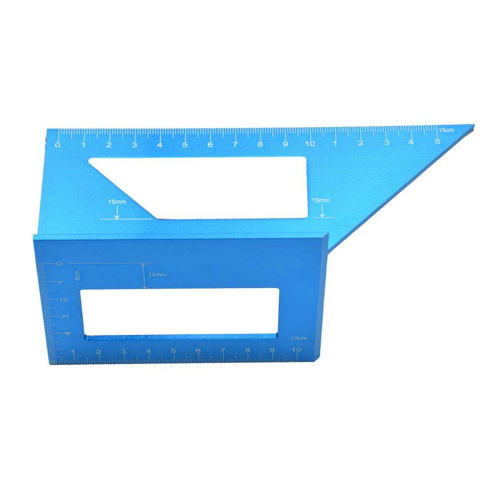 Woodworking T-type line gauge multi-function square 45 degree angle 90 degree aluminum alloy scribe