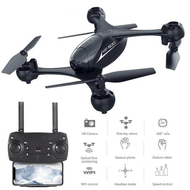 Qimiao KF600 RC Drone Quadcopter dengan Kamera 720 P 3D Flip Headless Modus Gerakan Otomatis Foto Ketinggian Terus Arus Penglihatan Posisi model