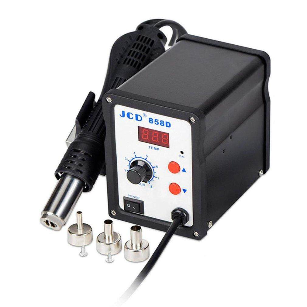Allwin BK-858D SMD Brushless Heat G*n Hot Air Rework Soldering Station 700W 220V