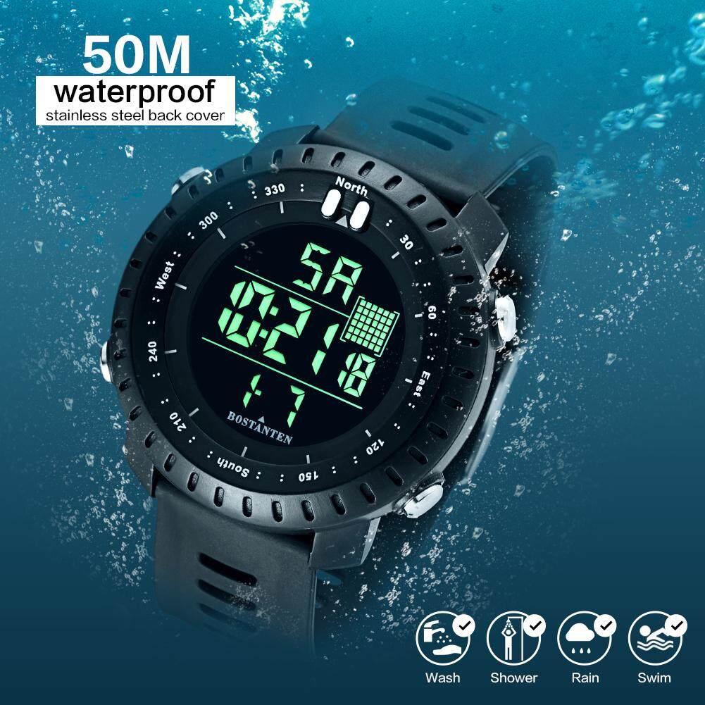 [CNY 2020] BOSTANTEN Mens Watch On Sale Waterproof Watch For Men BOSTANTEN Original Watches Latest Digital Sport Wristwatch-2082K Malaysia