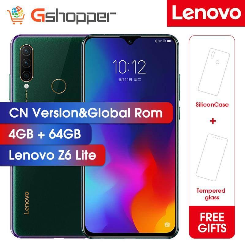 Lenovo Z6 Lite 4GB 64GB Global Rom OTA Snapdragon 710 Octa Core mobile  Phone 16MP Triple Cams Full Screen 4050mAh Smartphone