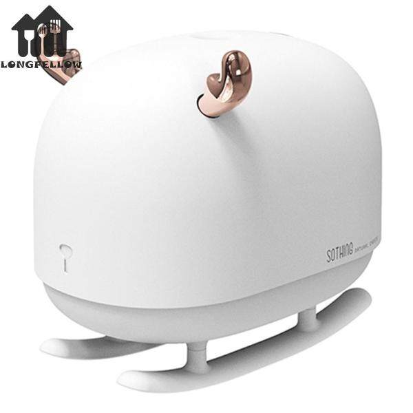 USB Quiet Humidifier Aroma Diffuser Machine Essential Oil Ultrasonic Mist With LED Singapore