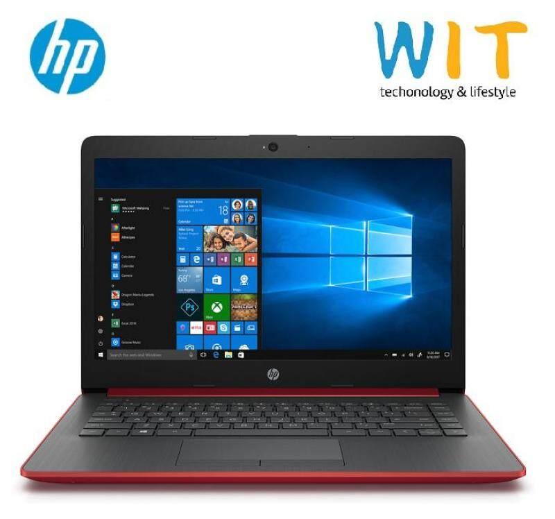 HP 14-Cm0107AU/Cm0108AU Laptop (Ryzen5 2500u/4GB/1TB/14 FHD/AMD Vega 8/W10) Red/Silver Malaysia