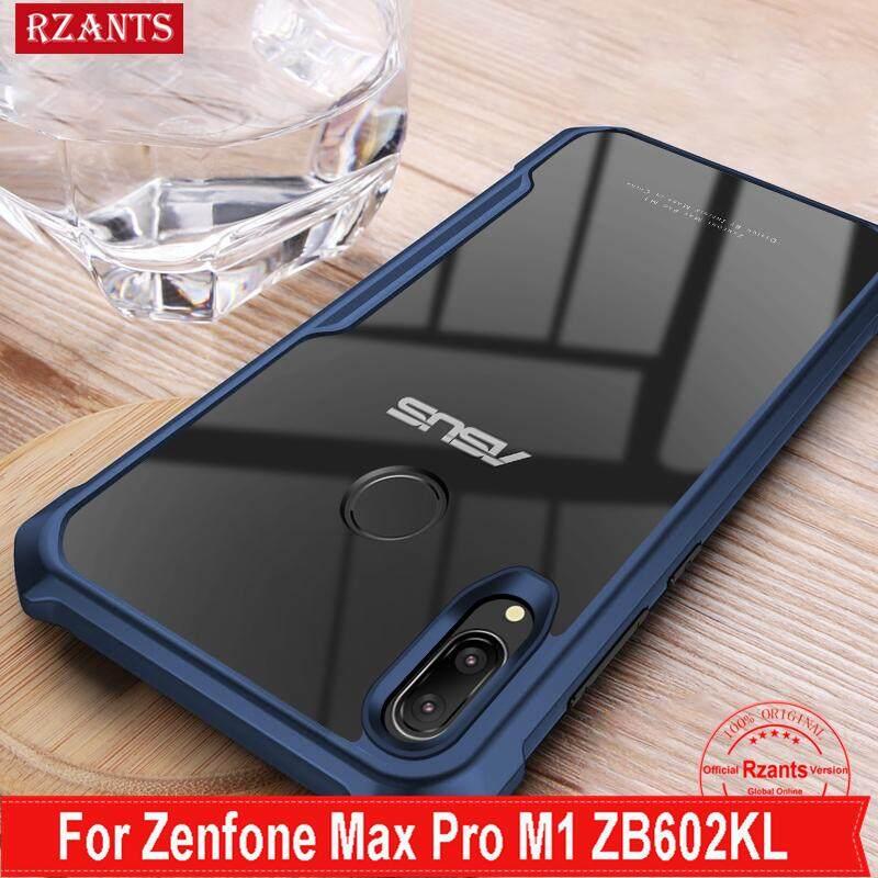 Rzants For Zenfone Max Pro M1 Hard Case【Four corner】Transparent Silica Gel Matte