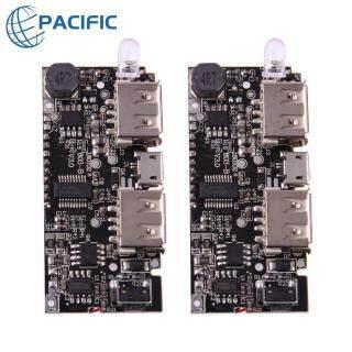 [50% OFF] Sạc Dự Phòng Kép USB 5V 1A 2.1A, Sạc Pin 18650 Bảng Mô-đun PCB [Suggested Buy above 2 pcs] thumbnail