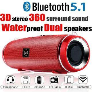 [Dây Đeo Miễn Phí] Winstong MINI2 Loa Bluetooth Chống Thấm Nước, Loa Không Dây Sạc Ngoài Trời Di Động Soundbar Loa Siêu Trầm Loa Mic Tích Hợp TF MP3 thumbnail