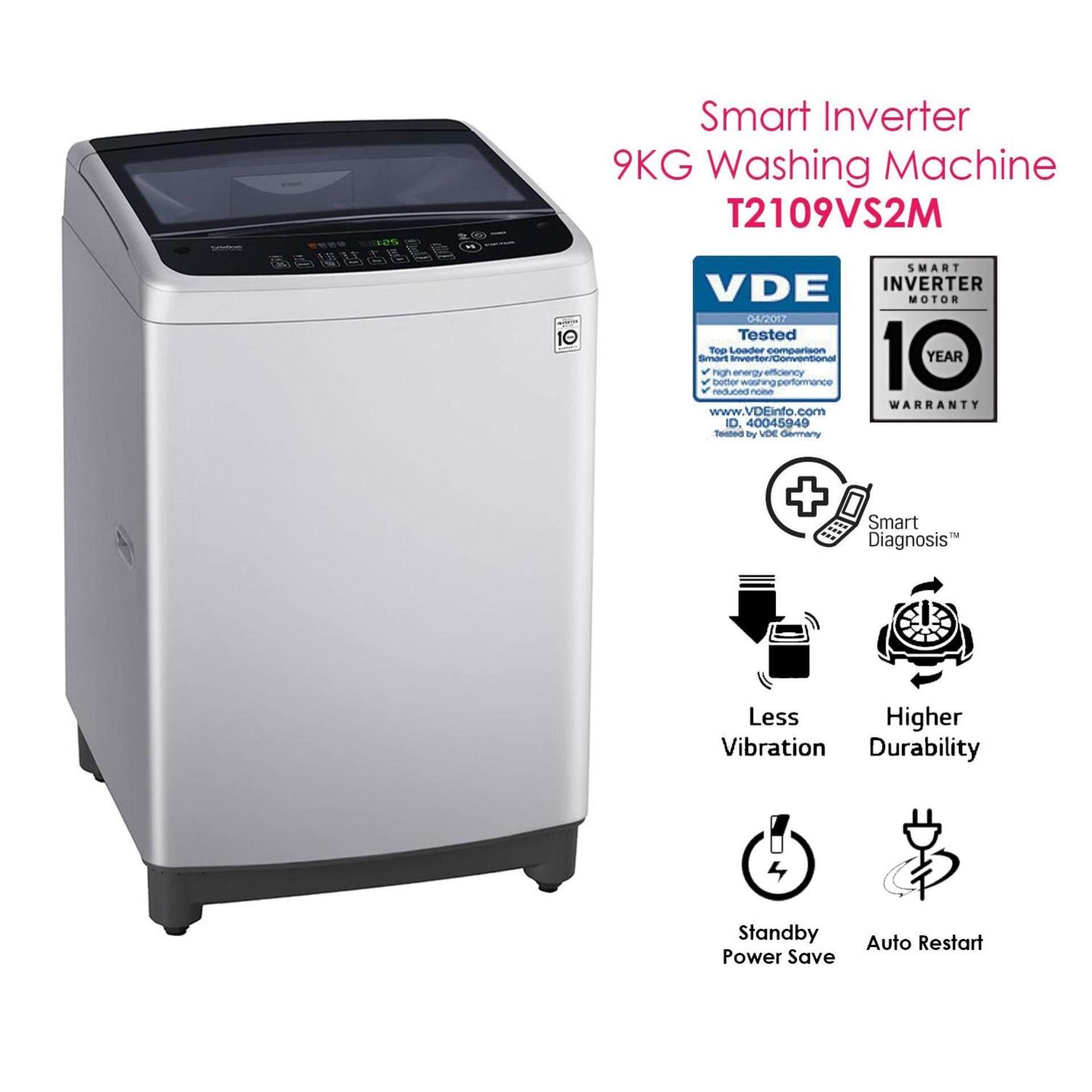LG T2109VS2M 9KG Smart Inverter Washing Machine