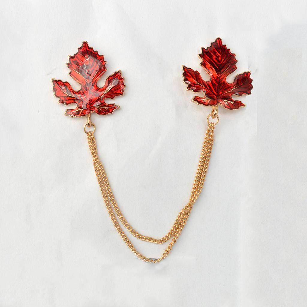 Fenteer Hươu Vàng Cây Cổ Dây Chuyền Trâm Cài Ve Áo Pin Trang Sức Quà Tặng dành cho Nam Nữ