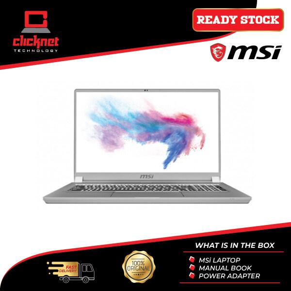 MSI Creator 17 A10SE-676 17.3 UHD Laptop ( I7-10875H, 16GB, 512B SSD, RTX2060 6GB, W10P ) Malaysia