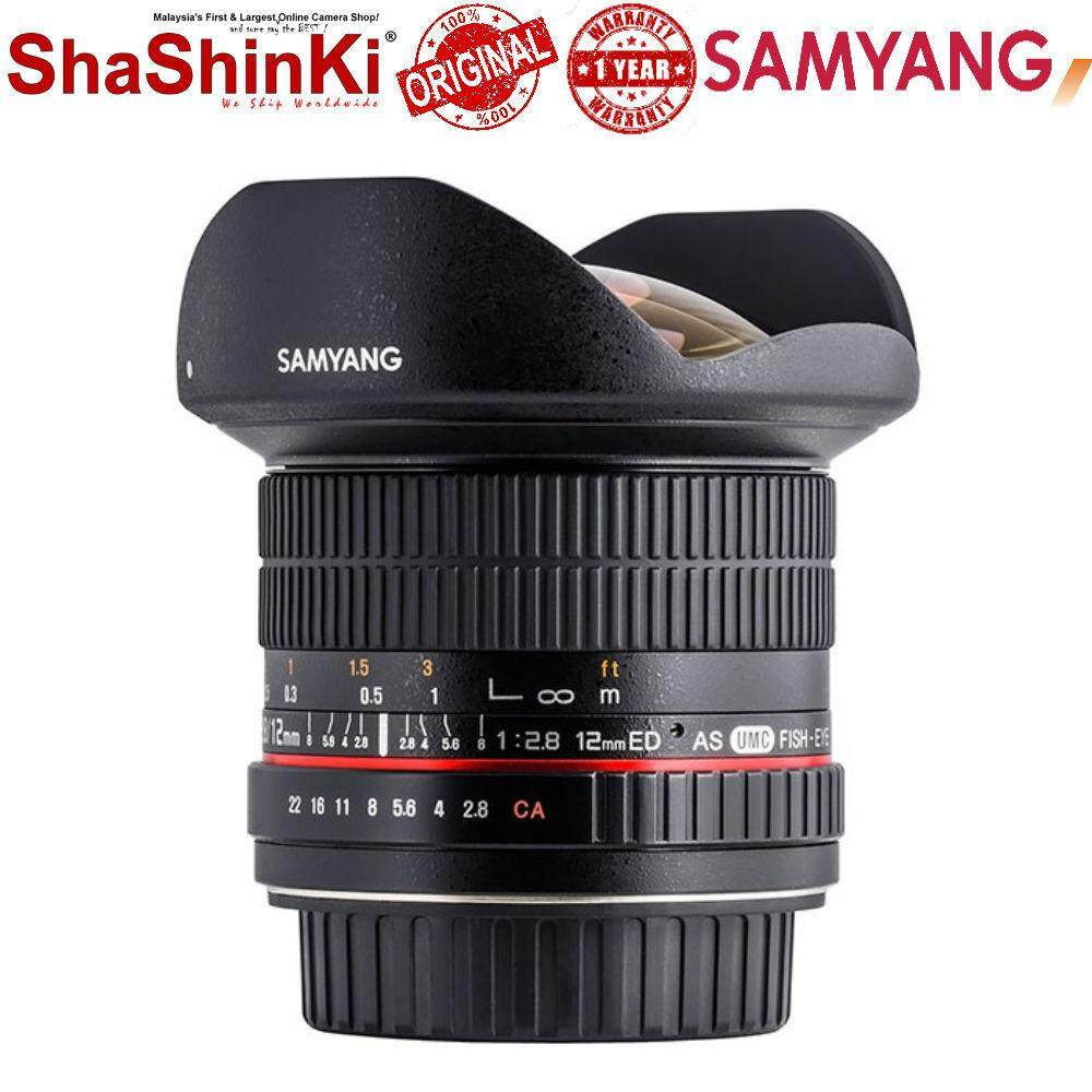 Samyang 12mm f/2.8 ED AS IF NCS UMC Fisheye Lens for Micro Four Third