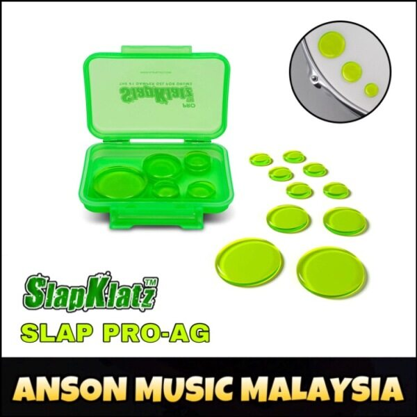 SlapKlatz PRO Alien Green Damper Gels (SLAP PRO-AG) Malaysia