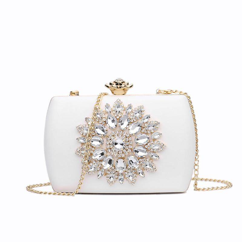 Evening Bag Women Wedding Clutches Diamond Handbag For Lady Chains Small Pouch