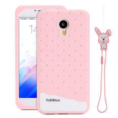 Fabitoo Cute ice cream silicone back cover case For Meizu .