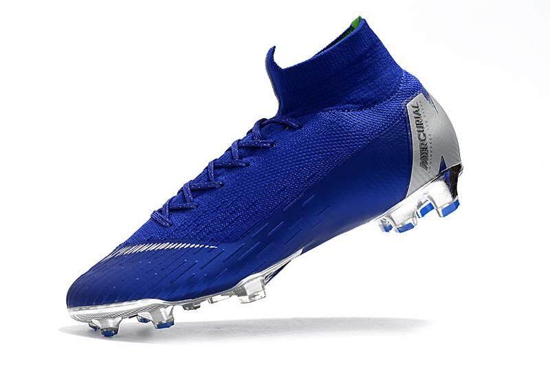 3d3dde0bacb High Ankle Football Boots Superfly Original Fly Knit 360 Elite FG Men s  Soccer Shoes VI 12