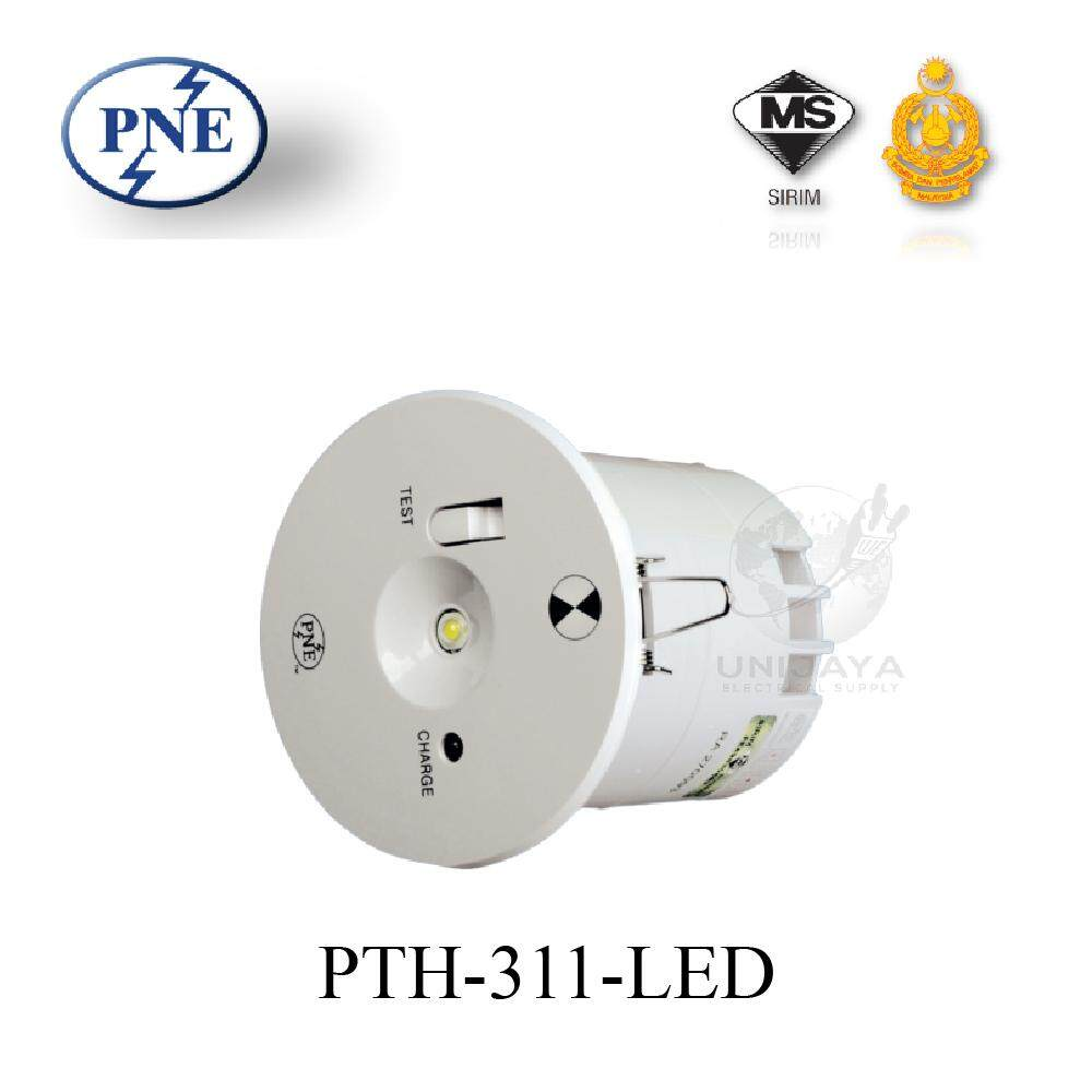 PNE PTH-311 Self_Contained LED UFO Ceiling Emergency Light (Bomba Approved Certificate)