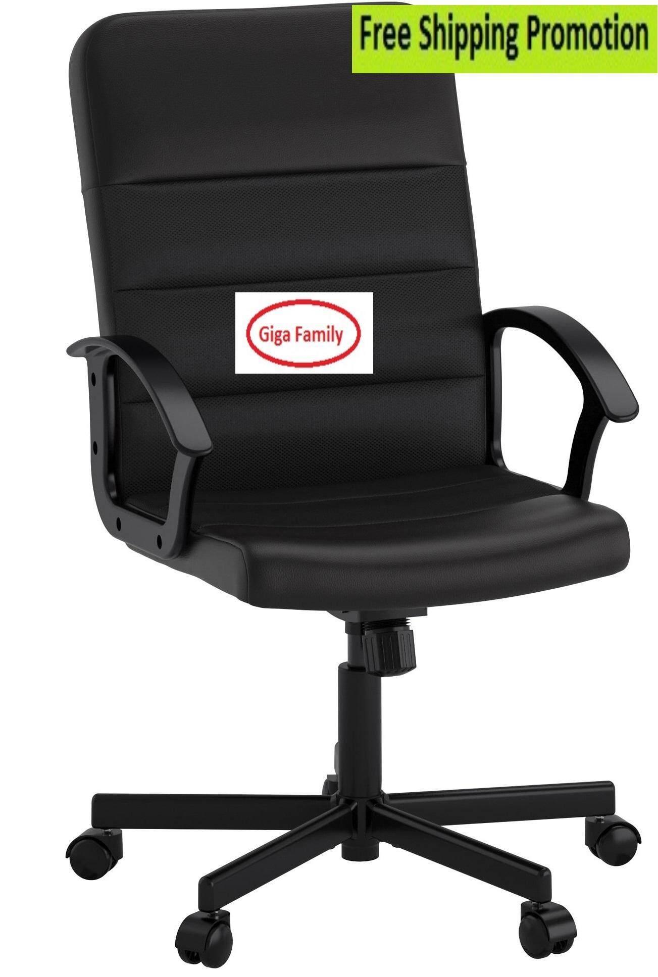 I K E A RENBERGET Swivel chair, black