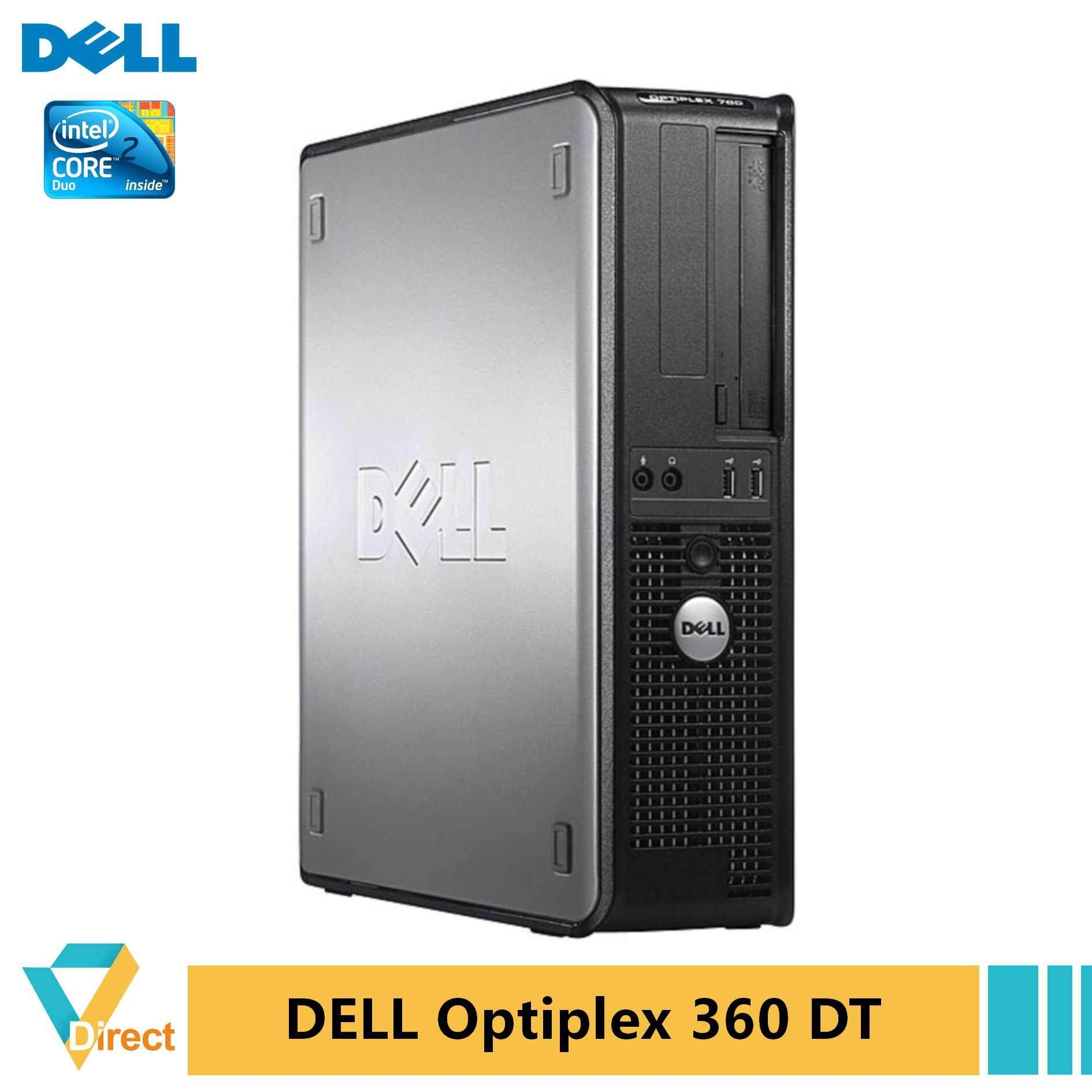 From RM 229 Dell Optiplex 360 DT desktop PC 4GB +19