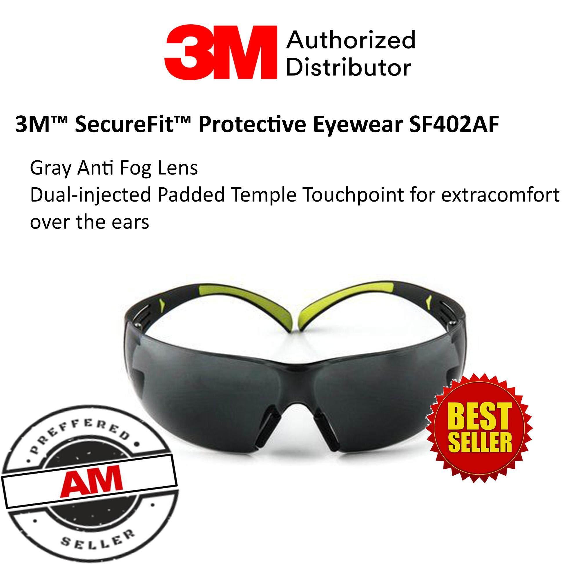 3M™ SecureFit™ Protective Eyewear SF402AF, Grey Anti-fog Lens