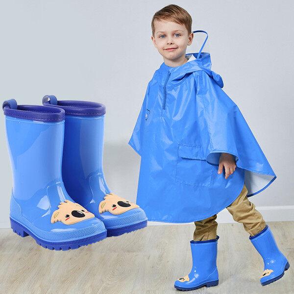 Giày Trẻ Em, Giày Trẻ Em Đế Mềm Giày Em Bé Giày Đi Mưa Cao Su Chống Thấm Nước Hoạt Hình Cho Bé Trai Bé Gái Trẻ Mới Biết Đi Ủng Đi Mưa giá rẻ