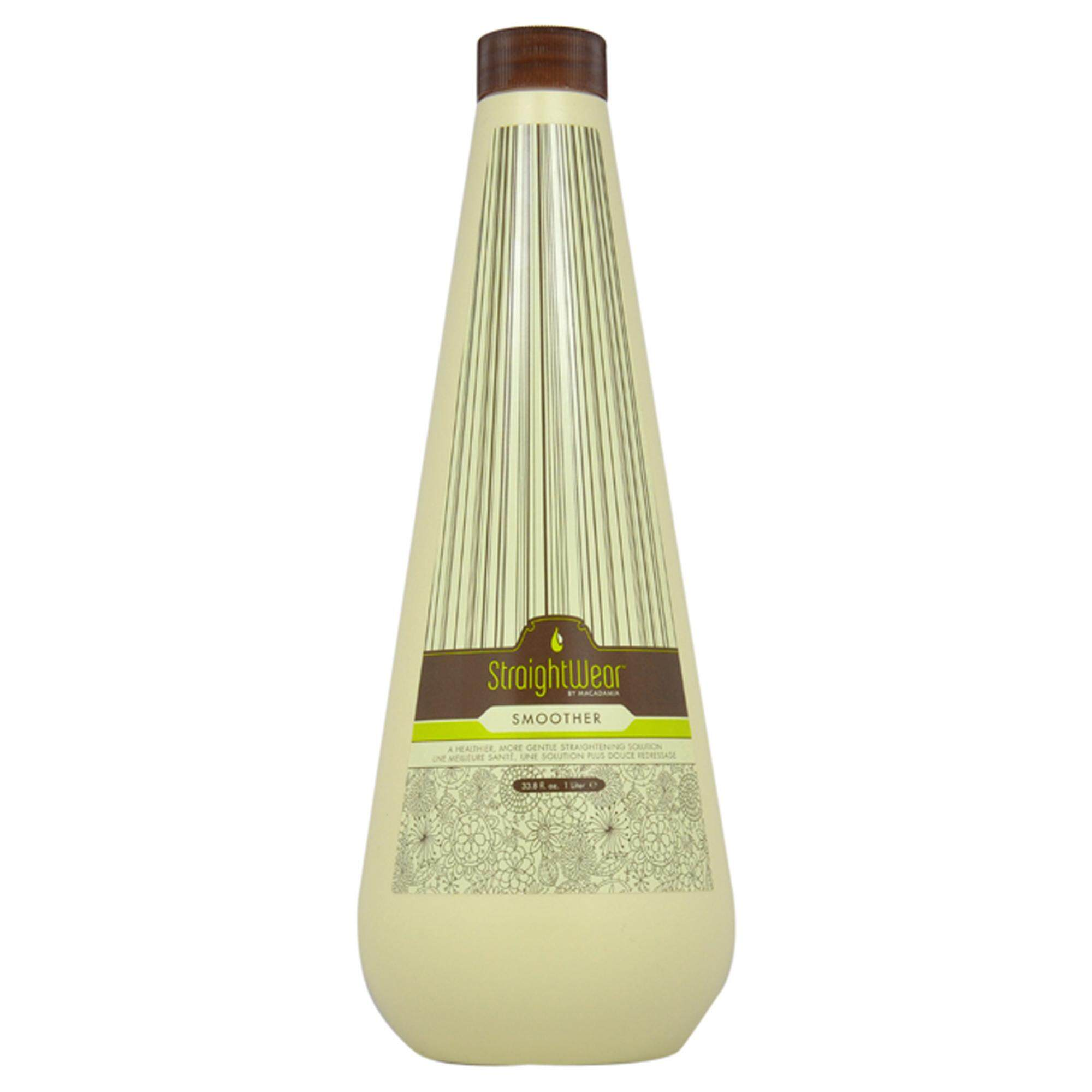 c3cfd0448d1 Macadamia Natural Oil Straightwear Smoother Straightening Solution - 33.8  oz Smoother