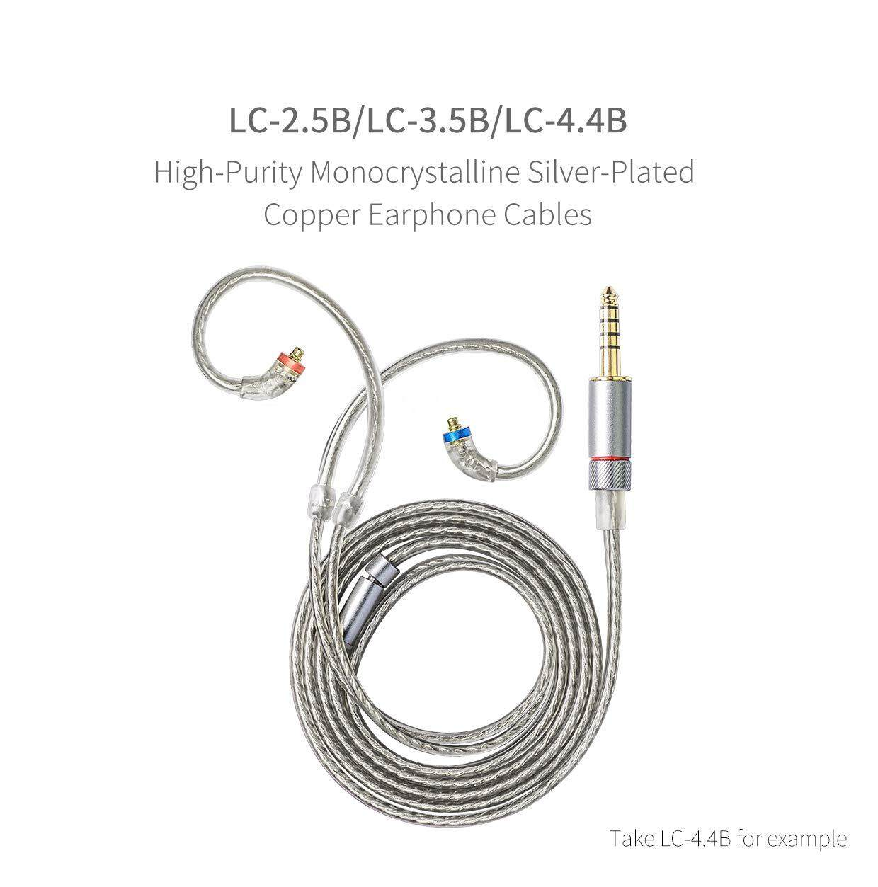 Fiio LC-2 5B MMCX Earphone Replacement Cable 2 5mm jack (LC-2 5B)