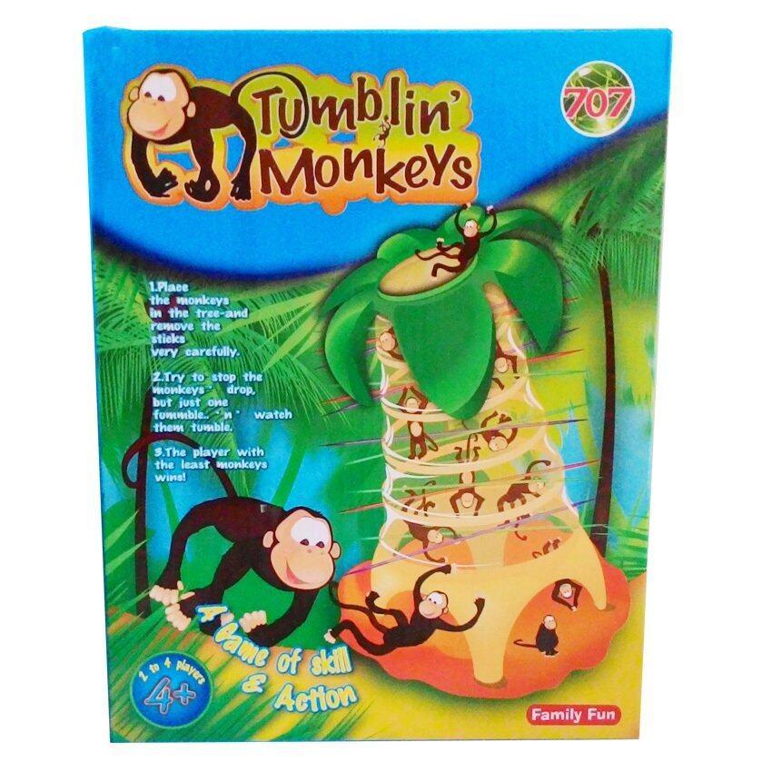 Family Interactive Toy Tumbling Monkeys