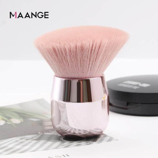 Cọ trang điểm MAANGE màu hồng lông mềm dùng tán phấn nền/má hồng - INTL