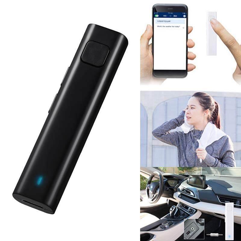 M_home XG-1 Bộ Thu Bluetooth Thông Minh Tai Nghe Tiếng Nói Dịch Giả 26 Đa ngôn ngữ Kinh Doanh Du Lịch Thẻ TF Giọng Văn Bản Thông Dịch Viên Tai Nghe Chụp Tai